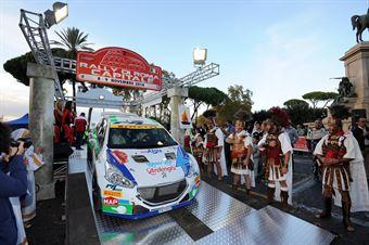 Alessandro Perico, Mauro Turati (Peugeot 208 T16 #2, PA Racing);, CAMPIONATO ITALIANO RALLY