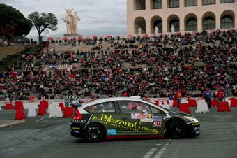 Emanuele Garosci, Giancarla Guzzi (Citroen C4 WRC #8, New Drivers Team);, CAMPIONATO ITALIANO RALLY