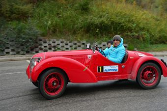 Alberto Aliverti   Calogero Rosario Emanuele, CAMPIONATO ITALIANO REGOLARITÀ AUTO STORICHE