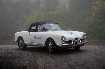Massimo Cecchi   Emma Graziai, CAMPIONATO ITALIANO REGOLARITÀ AUTO STORICHE