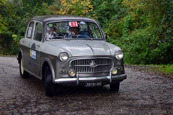 Angelo Mateuzzi   Sergio Finesso, CAMPIONATO ITALIANO REGOLARITÀ AUTO STORICHE