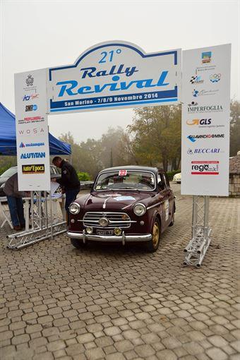 Ezio Sala   Romano Bacci, CAMPIONATO ITALIANO REGOLARITÀ AUTO STORICHE
