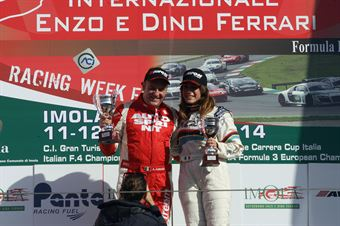 Gara 1 podio, Sabbatini Piria (2T Course&Reg Lage,Peugeot RCZ R #27), TCR ITALY TOURING CAR CHAMPIONSHIP