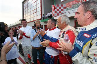 Meloni Necchi ( W&D Racing Team Sc. S.Marino, BMW M3 E46 #31), Meloni Tresoldi (W&D RT Sc. S.Marino , BMW M3 E46 #32), TCR ITALY TOURING CAR CHAMPIONSHIP