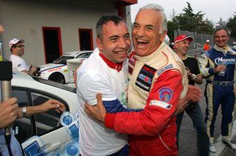 walter Meloni ( W&D Racing Team Sc. S.Marino, BMW M3 E46 #31), Paolo Meloni (W&D RT Sc. S.Marino , BMW M3 E46 #32), TCR ITALY TOURING CAR CHAMPIONSHIP