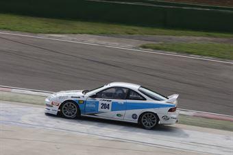 Piccin Piccin (ASD Super 2000, Honda integra B 24h 2.0 #204), TCR ITALY TOURING CAR CHAMPIONSHIP