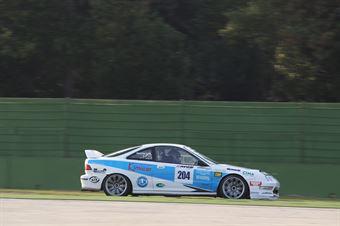 Piccin Piccin (ASD Super 2000, Honda integra B 24h 2.0 #204) , TCR ITALY TOURING CAR CHAMPIONSHIP