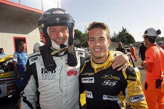 Giancarlo Busnelli (DTM Motorsport, SEAT Leon Long Run B 2.OT #1), Federico Zangari ( TJEMME, Seat Leon Long Run,Seat SC #12), TCR ITALY TOURING CAR CHAMPIONSHIP