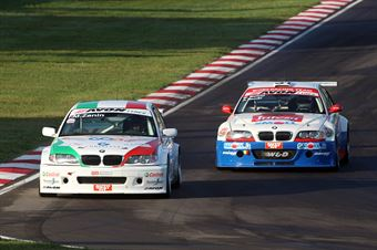 Zanin Zanin (Pro.Motorsport, BMW320i B 24h 2.0 #202), Meloni Necchi ( W&D Racing Team Sc. S.Marino, BMW M3 E46 #31), TCR ITALY TOURING CAR CHAMPIONSHIP