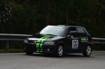 Lorenzo Accorsi (BL Racing – Peugeot 106 Rally # 133), CAMPIONATO ITALIANO VELOCITÀ MONTAGNA