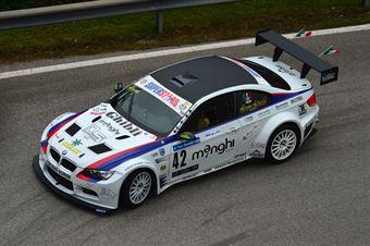 Abramo Antonicelli (ACN Forze di Polizia – BMW M3 E92 V8 # 42), CAMPIONATO ITALIANO VELOCITÀ MONTAGNA