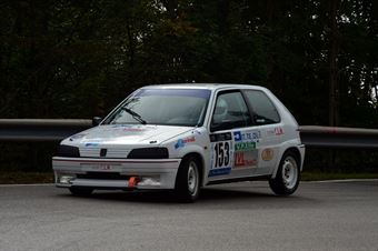 Claudio Bisceglie (5 Speed – Peugeot 106 Rally # 153), CAMPIONATO ITALIANO VELOCITÀ MONTAGNA