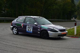 Matteo Bommartini (BL Racing – Honda Civic EK4 # 127), CAMPIONATO ITALIANO VELOCITÀ MONTAGNA