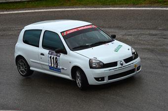 Roberto Bopscariol (Sc. Testadoro – Renault Clio RS # 118), CAMPIONATO ITALIANO VELOCITÀ MONTAGNA