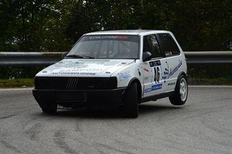 Manolo Campetti (Fiat Uno Turbo IE # 46), CAMPIONATO ITALIANO VELOCITÀ MONTAGNA