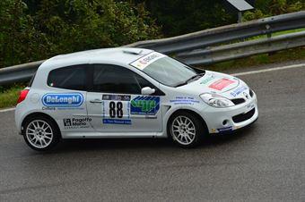 Ivano Cenedese (Renault Clio RS # 88), CAMPIONATO ITALIANO VELOCITÀ MONTAGNA