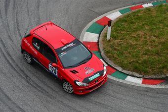 Mattia Casagrande (Vimotorsport – Peugeot 206 RC # 124), CAMPIONATO ITALIANO VELOCITÀ MONTAGNA