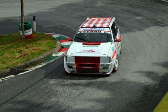 Leonardo Cesaro (Vimotorsport Fiat Uno Turbo IE # 48), CAMPIONATO ITALIANO VELOCITÀ MONTAGNA