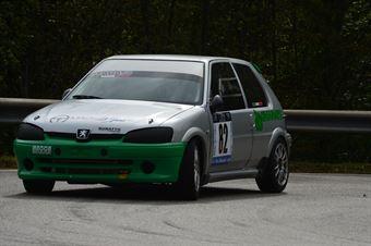 Roberto Chiarato (Mach 3 Sport Peugeot 106 # 82), CAMPIONATO ITALIANO VELOCITÀ MONTAGNA