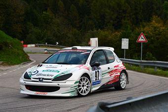 Alberto Cioffi (Peugeot 206 Super 1600 # 97), CAMPIONATO ITALIANO VELOCITÀ MONTAGNA