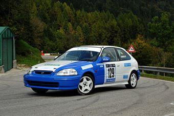 Valerio Consolati (Honda Civic EK4 # 129), CAMPIONATO ITALIANO VELOCITÀ MONTAGNA