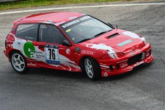Maurizio Contardi (Catria – Honda Civic # 76), CAMPIONATO ITALIANO VELOCITÀ MONTAGNA