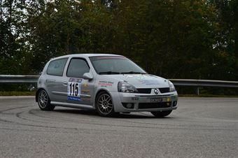 Gianantonio Corso (Antaares Motorsport – Renault Clio RS # 115), CAMPIONATO ITALIANO VELOCITÀ MONTAGNA