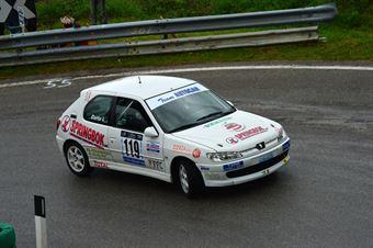 Ivan Curto (BL Racing – Peugeot 306 Rally # 119), CAMPIONATO ITALIANO VELOCITÀ MONTAGNA