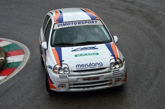 Michele Da Ros (Vimotorsport – Renault Clio RS # 122), CAMPIONATO ITALIANO VELOCITÀ MONTAGNA