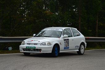 Remo De Bastiani (Vimotorsport – Honda Civic # 128), CAMPIONATO ITALIANO VELOCITÀ MONTAGNA