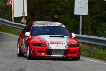 Stefano de Gan (hallet Racing Team – Honda Civic # 75), CAMPIONATO ITALIANO VELOCITÀ MONTAGNA