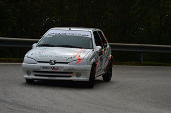Patrick Ferre (Peugeot 1600 # 135), CAMPIONATO ITALIANO VELOCITÀ MONTAGNA