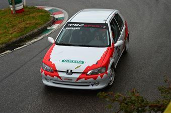 Luca Fumagalli (Peugeot 106 Rally # 145), CAMPIONATO ITALIANO VELOCITÀ MONTAGNA