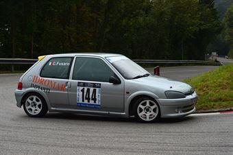 Carmelo Fusaro (Peugeot 106 Rally # 144), CAMPIONATO ITALIANO VELOCITÀ MONTAGNA