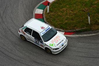 Claudio Gerotto (Rally Team – Peugeot 106 # 147), CAMPIONATO ITALIANO VELOCITÀ MONTAGNA