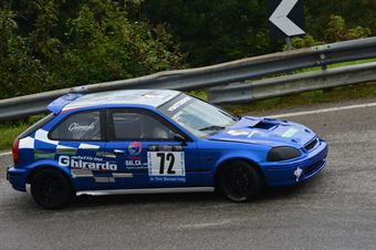 Michele Ghirardo (Vimotorsport – Honda Civic EK4 # 72), CAMPIONATO ITALIANO VELOCITÀ MONTAGNA