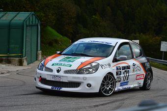 David Granziera (Vimotorsport – Renault New Clio # 173), CAMPIONATO ITALIANO VELOCITÀ MONTAGNA