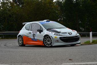 Giancarlo Graziosi (Pintarally Motorsport – Peugeot 207 S2000 # 92), CAMPIONATO ITALIANO VELOCITÀ MONTAGNA