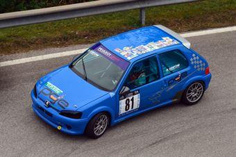 Bruno Grifoni (Peugeot 106 Rally # 81), CAMPIONATO ITALIANO VELOCITÀ MONTAGNA
