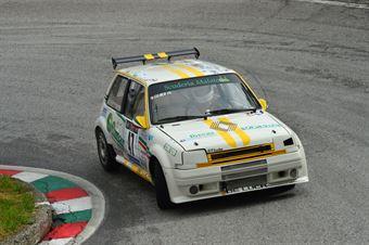 Andrea Guidi (Malatesta – Renault 5 GT Turbo # 47), CAMPIONATO ITALIANO VELOCITÀ MONTAGNA
