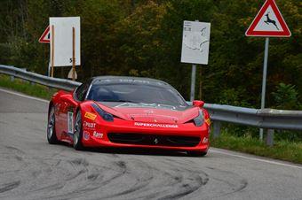 Bruno Jarach (Superchallenge – Ferrari 458 Challenge # 35), CAMPIONATO ITALIANO VELOCITÀ MONTAGNA