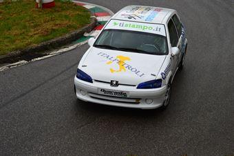 Luca Ligato (Peugeot 106 # 126), CAMPIONATO ITALIANO VELOCITÀ MONTAGNA