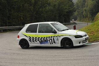 Angelo Loconte (Fasano Corse – Peugeot 106 Rally S16 # 174), CAMPIONATO ITALIANO VELOCITÀ MONTAGNA