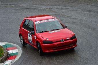 Stefano Maso ((Red White – Peugeot 106 Rally # 131), CAMPIONATO ITALIANO VELOCITÀ MONTAGNA