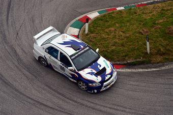 Antonino Migliuolo (Mendola – Mitsubishi Lancer Evo # 109), CAMPIONATO ITALIANO VELOCITÀ MONTAGNA