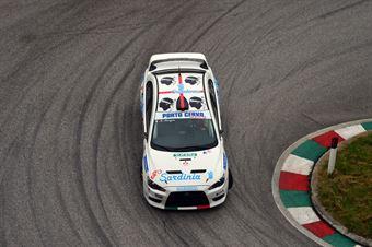 Mario Murgia (Porto cervo R.T. – Mitsubishi Lancer Evo # 111), CAMPIONATO ITALIANO VELOCITÀ MONTAGNA