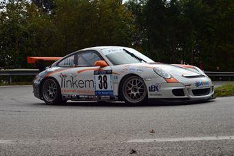 Nicola Novaglio (Elite Motorsport – Porsche 997 GT3 # 35), CAMPIONATO ITALIANO VELOCITÀ MONTAGNA