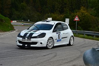 Paolo Parlato (Borrett Team Motorsport – Renault New Clio # 87), CAMPIONATO ITALIANO VELOCITÀ MONTAGNA