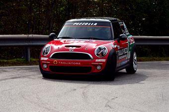 Ivan Pezzolla (Vesuvio   Mini Cooper S Turbo # 155), CAMPIONATO ITALIANO VELOCITÀ MONTAGNA