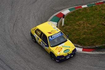 Claudio Pio (CAN Forze di Polizia – Peugeot 106 Rally # 151), CAMPIONATO ITALIANO VELOCITÀ MONTAGNA